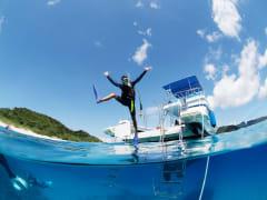 fun with marine sports in Okinawa
