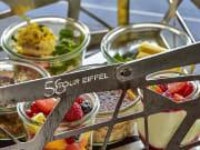 france, paris, eiffel tower, dinner, meal