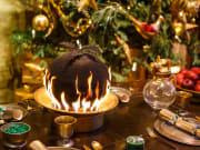 Great Hall - Flaming Christmas Puddings (5)