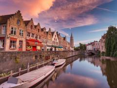 Amsterdam, Belfry of Bruges, Belgium