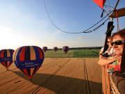 Fontainebleau hot air balloon flight