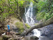USA_Hawaii_Honolulu_Likeke Falls
