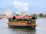 Manohra Rice Barge on Chao Phraya River