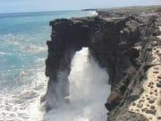 Hawaii_Big Island_Bike Volcano_Holei_sea_arch