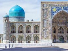 Uzbekistan_Samarkand_Registan_shutterstock_571530451