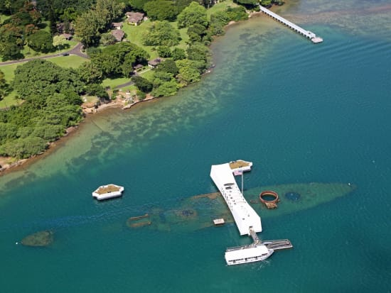Pearl Harbor Oahu >> Best Of Pearl Harbor Guided Tour Oahu Island Helicopter Flight Sale Instant Confirmation