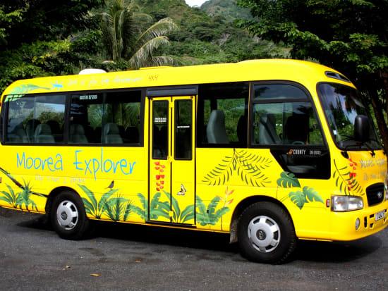 moorea explorer shuttle service in tahiti