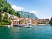 Italy, Lake Como, cruise