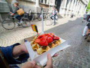 Belgium Waffle, belgian, brussels