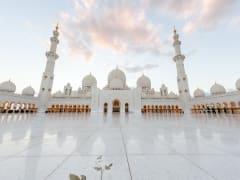 UAE, Abu Dhabi, Sheik Zayed Grand Mosque