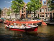 boat, Dutchman, canal, Amsterdam, tour, cruise