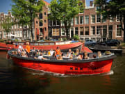 boat, Nomag, canal, Amsterdam, cruise