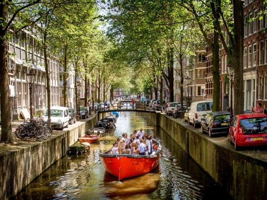 Nomag, cruise, Amsterdam, electric boat
