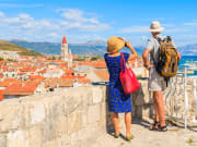 Croatia, Trogir, Tourists