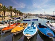 Croatia, Split, Boats