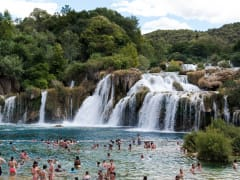 Croatia, Krka, Waterfalls