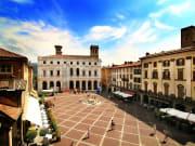 Italy, Bergamo, Piazza, Vecchia