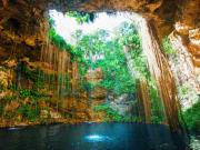 Cancun_Inside Cenote_Shutterstock