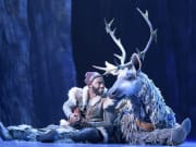 Jelani Alladin (Kristoff) and Andrew Pirozzi (Sven) in FROZEN. Photo by Deen van Meer