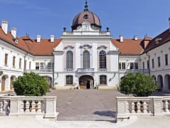 The beautiful Godollo Palace in Hungary