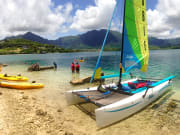 hobie and kayak at coc