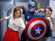 Meet and Greet Captain America Disneyland Paris