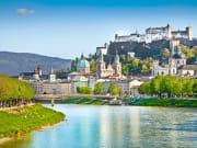 Austria, Salzburg cityscape