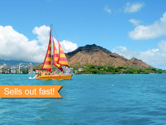 Cruise Along Waikiki Coast With Na Hoku Catamaran S Most Por Party Boat Embark On A 90 Minute Booze An Open Bar That Includes Beer