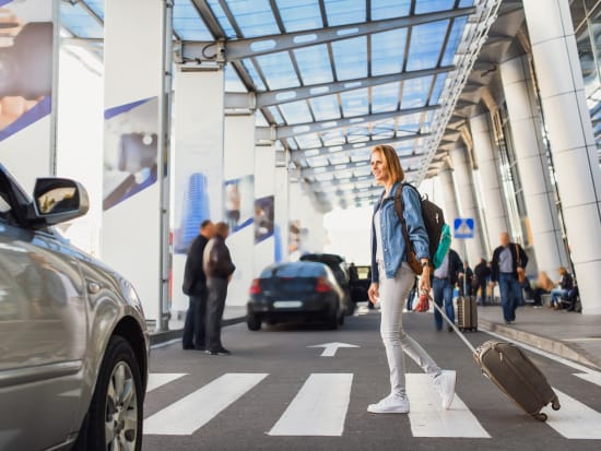 Woman Airport Transfer Service