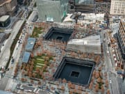 Aerial view of 9/11 Ground Zero Site