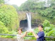 #5レインボー滝(ザ・朝火山ツアー/マイカイオハナツアー)