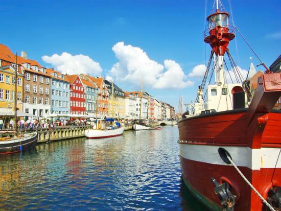 Denmark, Copenhagen, nyhavn new harbor