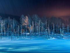 Hokkaido_Biei_Blue_Pond_Frozen_shutterstock