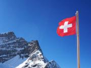 Switzerland_flag, swiss alps