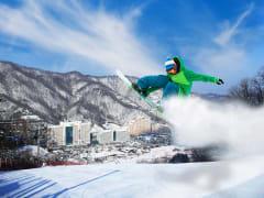 Visit Vivaldi Park Ski World on a tour from Seoul