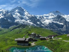 Switzerland, Bernese Oberland, Kleine Scheidegg