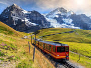 Switzerland_Bernese Oberland_Jungfraujoch_Kleine Scheidegg_train