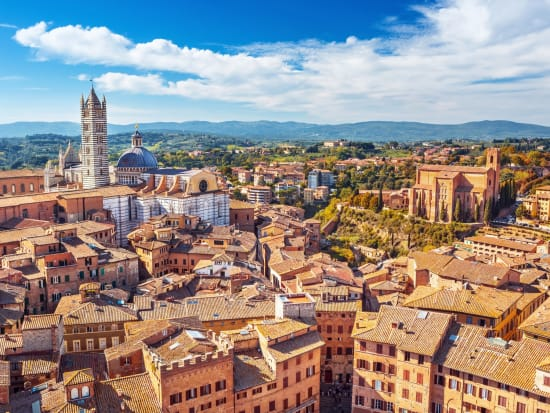 Enjoy your scenic view of Siena
