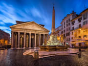 Italy_Rome_Pantheon_Night