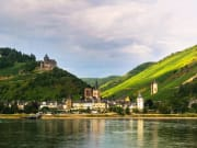 Germany, Rhine cruise, river tour, valley