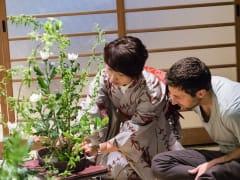 Ikebana class Kyoto