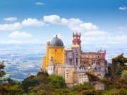 Portugal, Lisbon, Pena National Palace and Park
