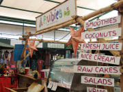 Kuranda Village food stalls