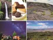 キラウエア火山と星2019