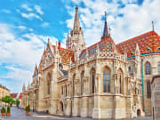 The beautiful architecture of St. Matthias Church