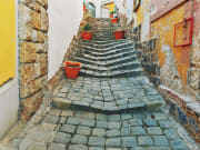 Typical alleys and stairs in Szentendre