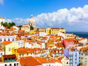 Charming district of Alfama, Lisbon