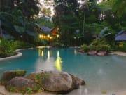 swimming pool ferntree rainforest lodge