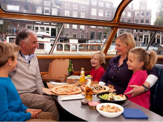 netherlands, amsterdam, pizza cruise