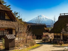 Japan_Yamanashi_Saiko Iyashi no sato Nenba_shutterstock_655419871